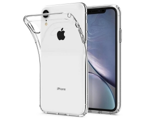 Gummi Hülle iPhone Xr flexibel dünn transparent Thin Clear TPU Case