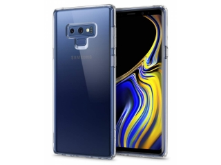 Gummi Hülle Samsung Galaxy Note 9 flexibel dünn transparent thin clear