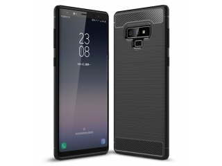 Samsung Galaxy Note 9 Carbon Gummi Hülle TPU Case Cover flexibel