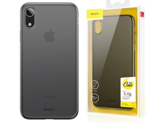 Baseus Extrem dünne iPhone Xr Hülle Ultra Thin 0.4mm schwarz clear