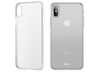 Baseus Extrem dünne iPhone Xs Hülle Ultra Thin 0.45mm transparent matt