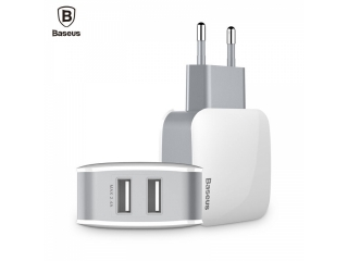 Baseus 2-Fach USB Dual Ladegerät für Fastcharge iPhone X, Xs, Max, Xr