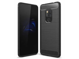 Huawei Mate 20 Carbon Gummi Hülle TPU Case Cover flexibel