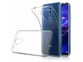 Gummi Hülle Huawei Mate 20 Lite flexibel dünn transparent thin clear