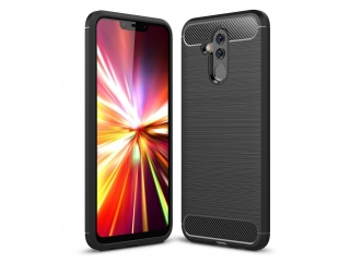 Huawei Mate 20 Lite Carbon Gummi Hülle TPU Case Cover flexibel