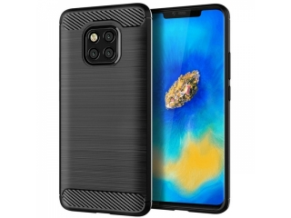 Huawei Mate 20 Pro Carbon Gummi Hülle TPU Case Cover flexibel
