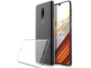 Gummi Hülle zu OnePlus 6T flexibel dünn transparent thin clear case