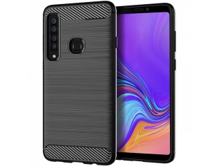 Samsung Galaxy A9 (2018) Carbon Gummi Hülle TPU Case Cover flexibel