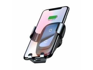 Baseus Auto Handy Halterung mit Wireless Fast Charge - Lüftungsschlitz