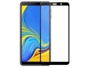 Samsung Galaxy A7 (2018) 100% Vollbild Panzerglas Schutzfolie 0.23mm
