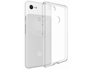 Google Pixel 3 XL Gummi TPU Hülle flexibel dünn transparent thin clear