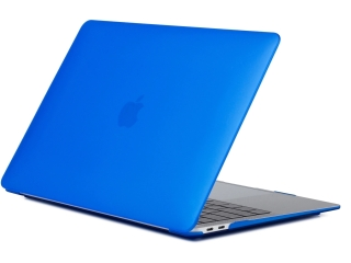 MacBook Air 13 Retina Hülle Hard Case SmartShell in dunkel blau matt