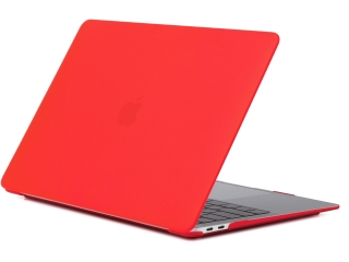 MacBook Air 13 Retina Hülle Hard Case SmartShell in rot matt