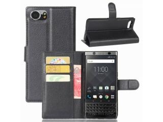 Blackberry KeyOne Ledertasche Portemonnaie Karten Etui Schutzhülle