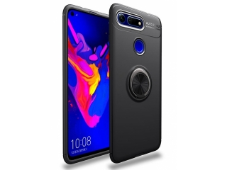 Honor View 20 Hülle mit Ring Finger Halterung Case Cover flexibel