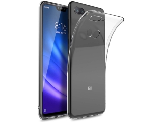 Gummi Hülle Xiaomi Mi 8 Lite flexibel dünn transparent thin clear case
