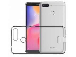 Gummi Hülle Xiaomi Redmi 6 flexibel dünn transparent thin clear case