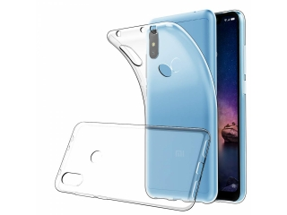Gummi Hülle Xiaomi Redmi Note 6 Pro flexibel dünn transparent thincase