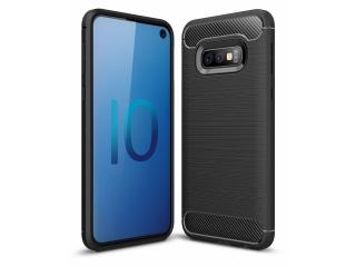 Samsung Galaxy S10e TPU Carbon Flex Gummi Hülle Thin Softcase