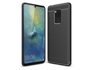 Huawei Mate 20 X Carbon Gummi Hülle TPU Case Cover flexibel