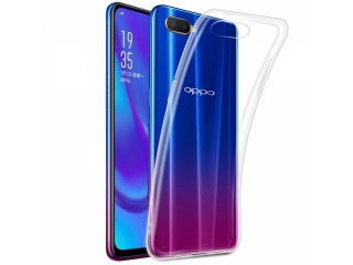 Gummi Hülle zu Oppo RX17 Neo flexibel dünn transparent thin clear case