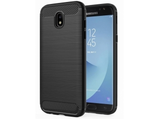 Samsung Galaxy J5 (2017) Carbon Gummi Hülle TPU Case Cover flexibel