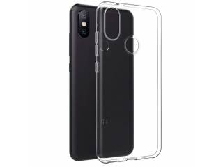 Gummi Hülle Xiaomi Mi A2 flexibel dünn transparent thin clear case