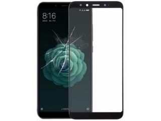 Xiaomi Mi A2 100% Vollbild Panzerglas Schutzfolie 0.23mm 2.5D schwarz