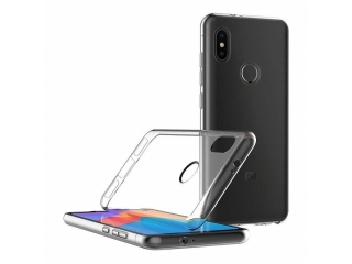 Gummi Hülle Xiaomi Mi A2 Lite flexibel dünn transparent thinclear case