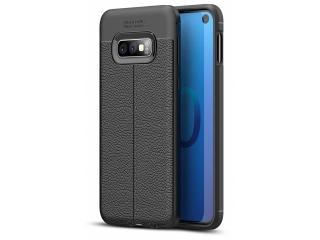 Samsung Galaxy S10e Leder Design Gummi Hülle TPU Case Cover flexibel