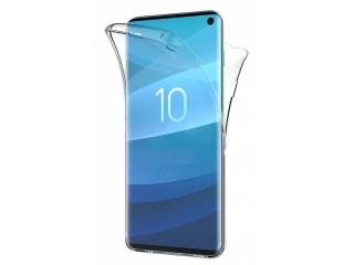 360 Grad Samsung S10 Touch Case Transparent Silikon TPU Rundumschutz