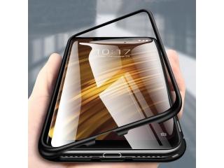Xiaomi POCOPHONE F1 Magnetische Alu Schutzhülle Panzer Glas Rückseite