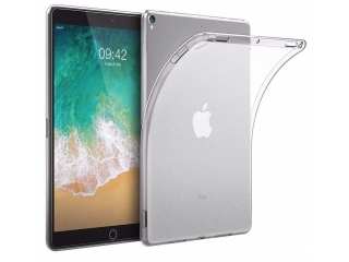 "iPad 9.7"" (2018/2017) Gummi Case Hülle TPU Transparent Crystal Clear"