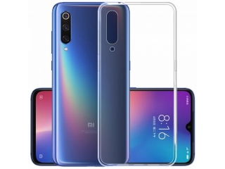 Xiaomi Mi 9 Gummi TPU Hülle flexibel dünn transparent thin clear case