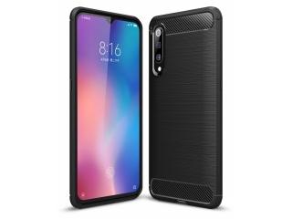 Xiaomi Mi 9 Carbon Gummi Hülle TPU Case Cover flexibel schwarz