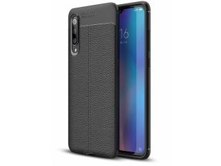 Xiaomi Mi 9 Leder Design Gummi Hülle TPU Case Cover flexibel