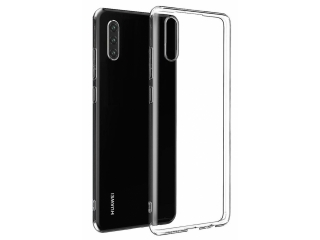 Huawei P30 Gummi TPU Hülle flexibel dünn transparent thin clear case