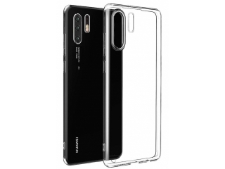 Huawei P30 Pro Gummi TPU Hülle flexibel transparent thin clear case