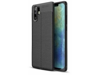 Huawei P30 Pro Leder Design Gummi Hülle TPU Case Cover flexibel