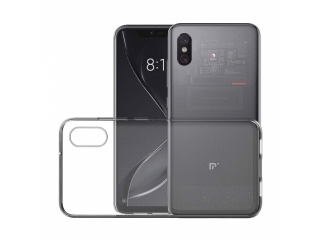 Xiaomi Mi 8 Pro Gummi Hülle flexibel dünn transparent thin clear case