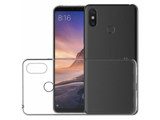 Xiaomi Mi Max 3 Gummi TPU Hülle flexibel dünn transparent thin clear