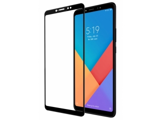 Xiaomi Mi Max 3 100% Vollbild Panzerglas Schutzfolie 0.23mm 2.5D