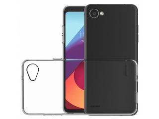 LG Q6 Gummi TPU Hülle flexibel dünn transparent thin clear case cover