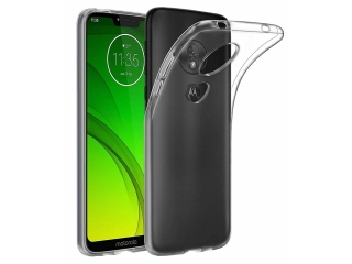 Moto G7 Power Gummi TPU Hülle flexibel dünn transparent thin clearcase