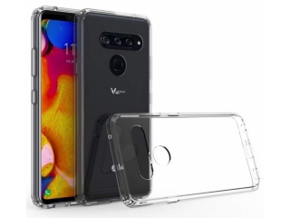 LG V40 ThinQ Gummi TPU Hülle flexibel dünn transparent thin clear case