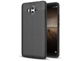 Huawei Mate 10 Leder Design Gummi Hülle TPU Case Cover flexibel
