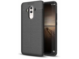 Huawei Mate 10 Pro Leder Design Gummi Hülle TPU Case Cover flexibel
