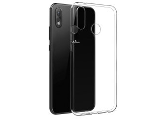 Wiko View 2 Pro Gummi TPU Hülle flexibel dünn transparent thin clear