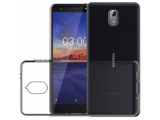 Nokia 3.1 Gummi TPU Hülle flexibel dünn transparent thin clear case