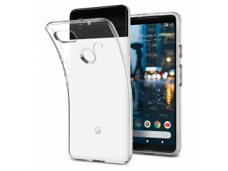 Google Pixel 2 XL Gummi TPU Hülle flexibel dünn transparent thin clear